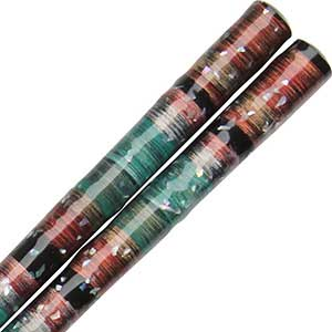 Wakasa Peacock Zome Japanese Chopsticks wakasa chopsticks, japanese chopsticks, peacock chopsticks, zome chopsticks