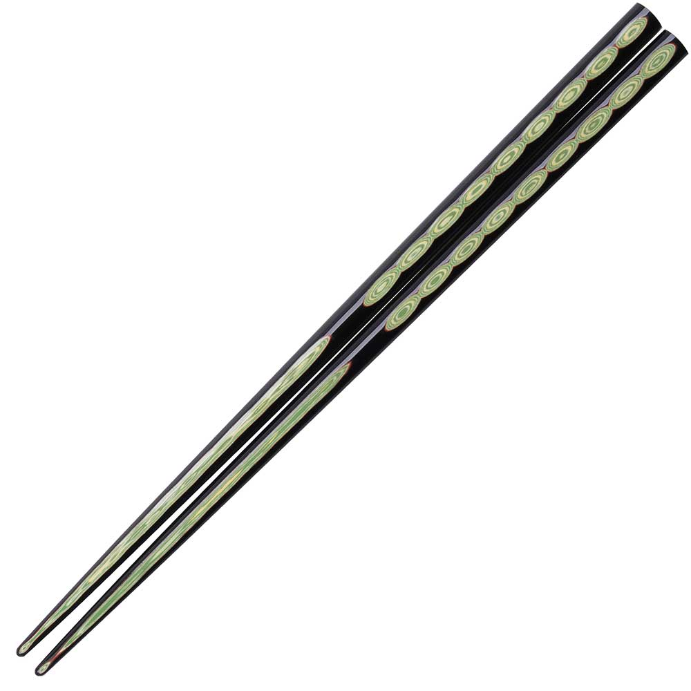 Wakasa Wakaba Black Japanese Chopsticks