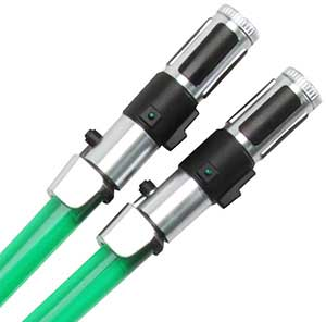 Yoda Light Saber Chopsticks Yoda Light Saber Chopsticks, Light Saber Chopsticks, Star Wars Chopsticks, lightsaber chopsticks, lightsabre chopsticks, Kotobukiya chopsticks, plastic chopsticks