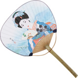 Hand Fan for Cooling Sushi Rice Geisha
