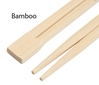 Bamboo Twin Restaurant Chopsticks with Custom Sleeves
