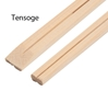 Tensoge Bamboo Restaurant Chopsticks with Custom Sleeves