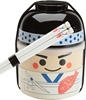 Childrens Kokeshi Sushi Chef Bento Box and Chopsticks Set