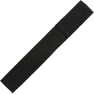 Chopstick Sleeve Black Colored Webbing Closed-Top Long