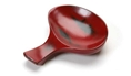 Soy Dish Chopstick Rest Red